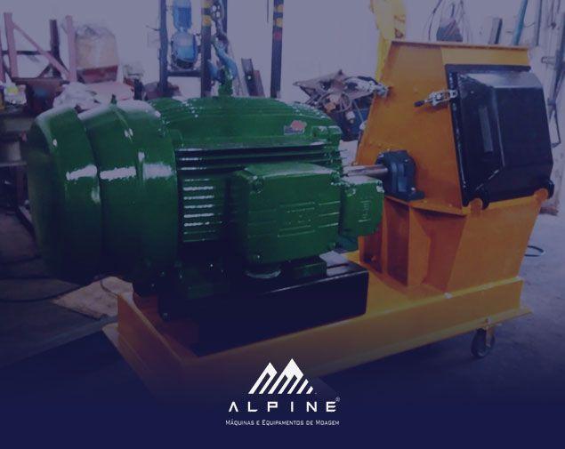 Alpine Máquinas para Moagem e Trituradores